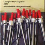 Bolt heater tool for turbine